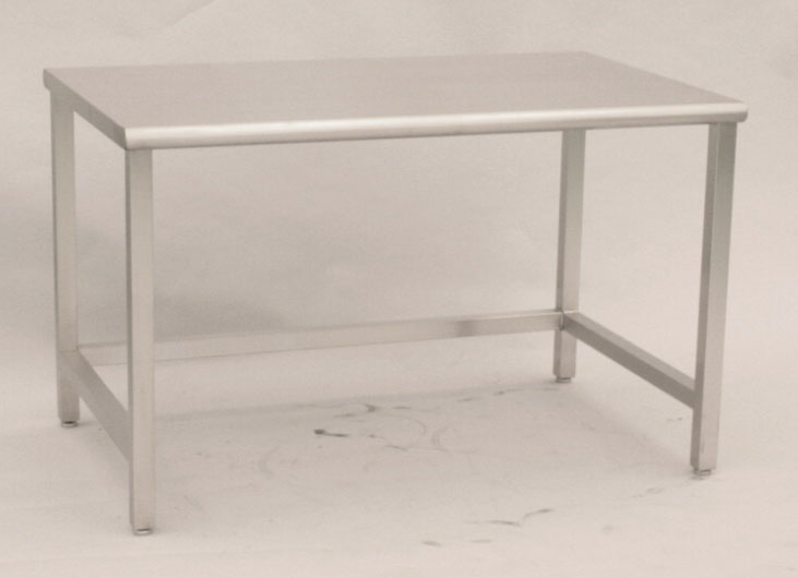 ステンレスクリーンテーブル 溶接式 コの字補強