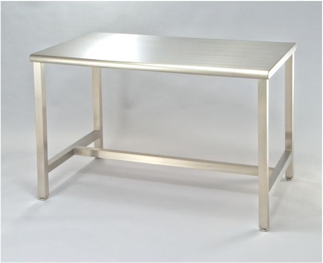 ステンレスクリーンテーブル 溶接式 H枠補強